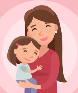 raquel y su hija